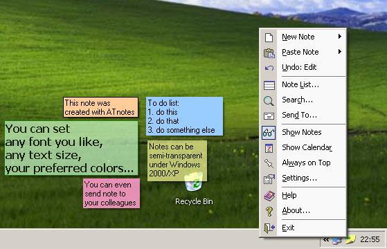 ATnotes v9.5 Screenshot
